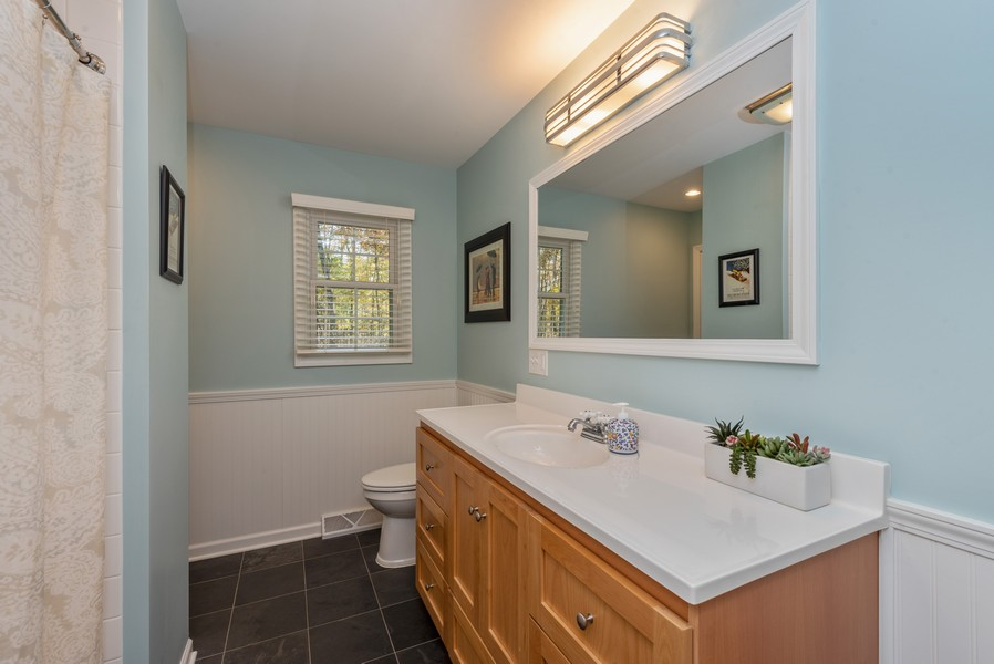Real Estate Photography - 2051 Lawndale Dr, Valparaiso, IN, 46383 - Bathroom