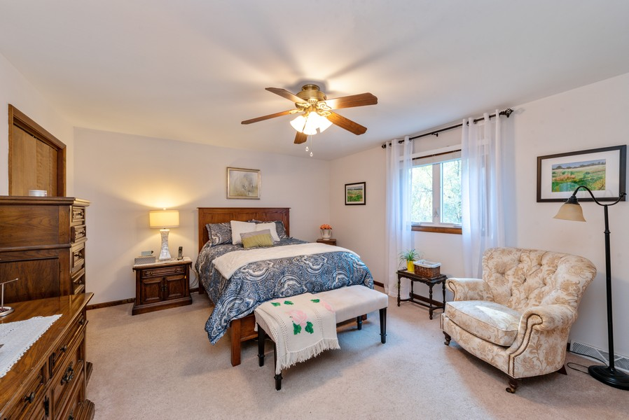 Real Estate Photography - 7842 Frederick Ave., Munster, IN, 46321 - Master Bedroom