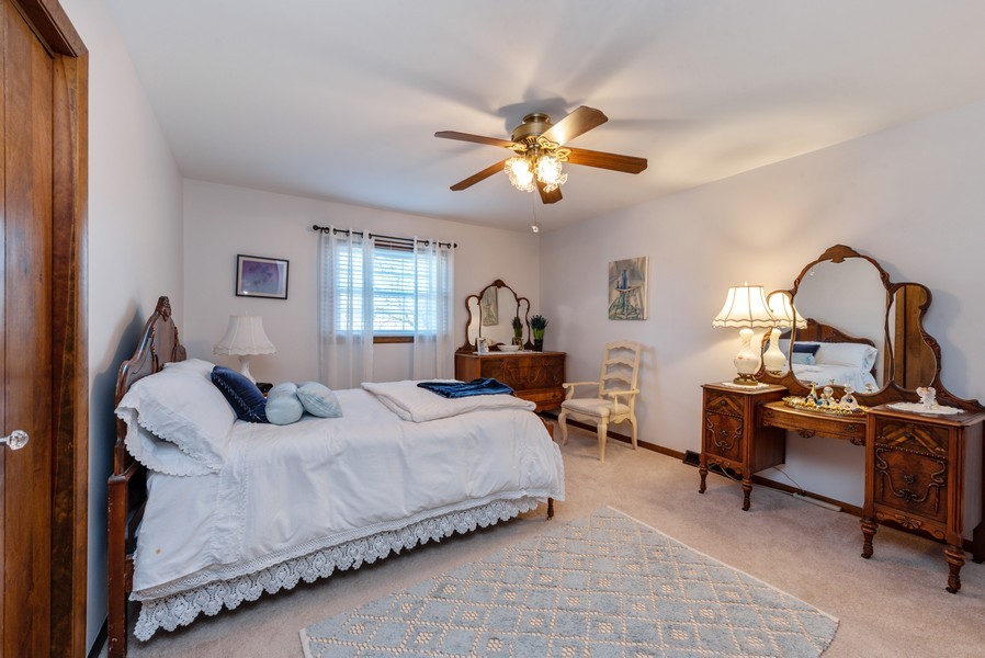 Real Estate Photography - 7842 Frederick Ave., Munster, IN, 46321 - Bedroom