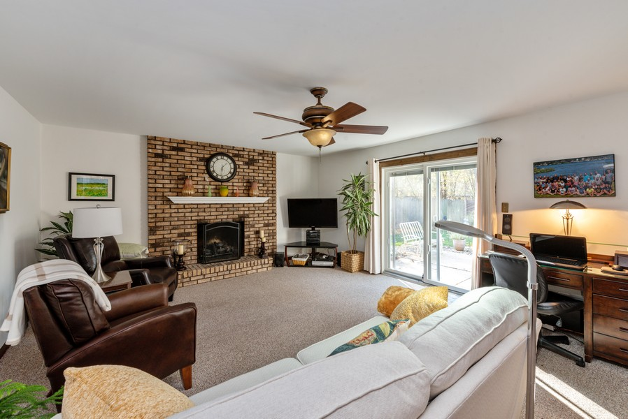 Real Estate Photography - 7842 Frederick Ave., Munster, IN, 46321 - Family Room