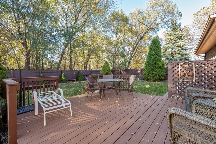 Real Estate Photography - 7842 Frederick Ave., Munster, IN, 46321 - Deck