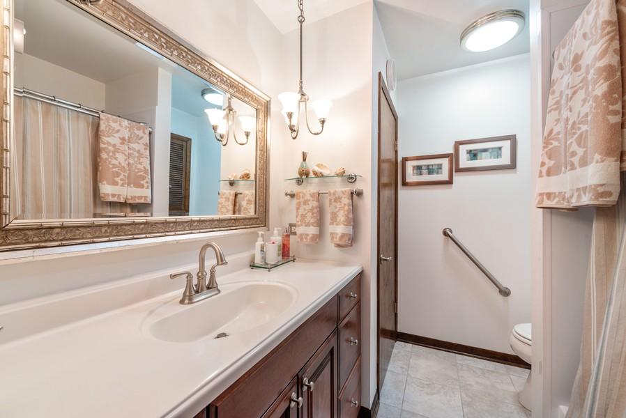 Real Estate Photography - 7842 Frederick Ave., Munster, IN, 46321 - Bathroom