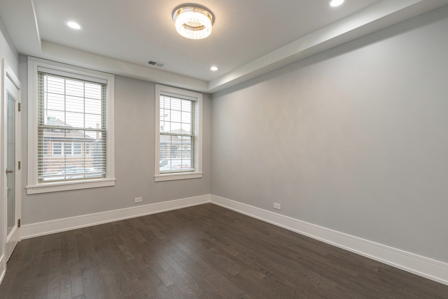 Real Estate Photography - 6112 S Kedvale Ave, Chicago, IL, 60629 - Living Room