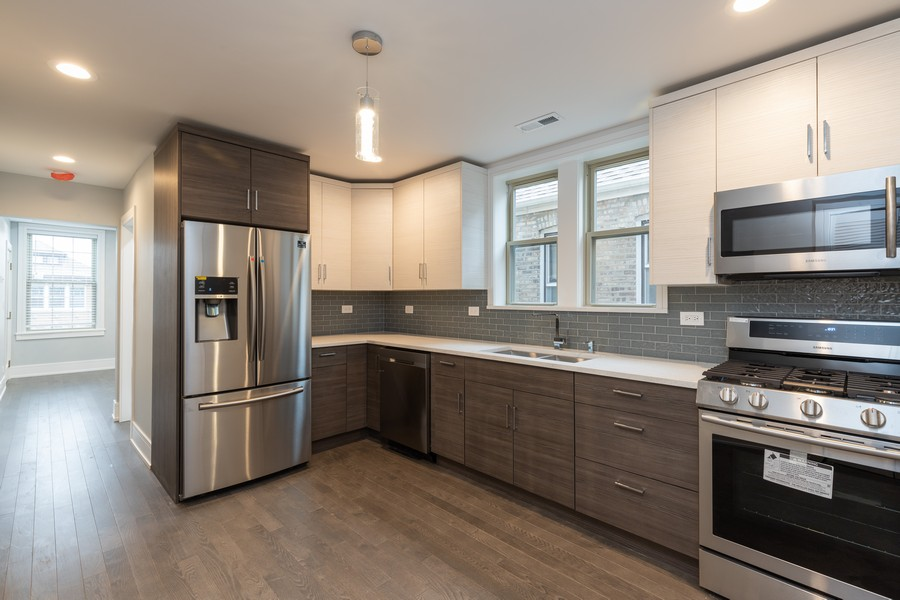 Real Estate Photography - 6112 S Kedvale Ave, Chicago, IL, 60629 - Kitchen