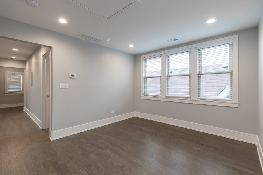 Real Estate Photography - 6112 S Kedvale Ave, Chicago, IL, 60629 - Family Room