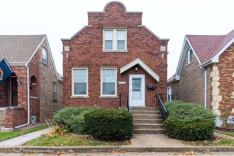 Real Estate Photography - 6112 S Kedvale Ave, Chicago, IL, 60629 - Front View