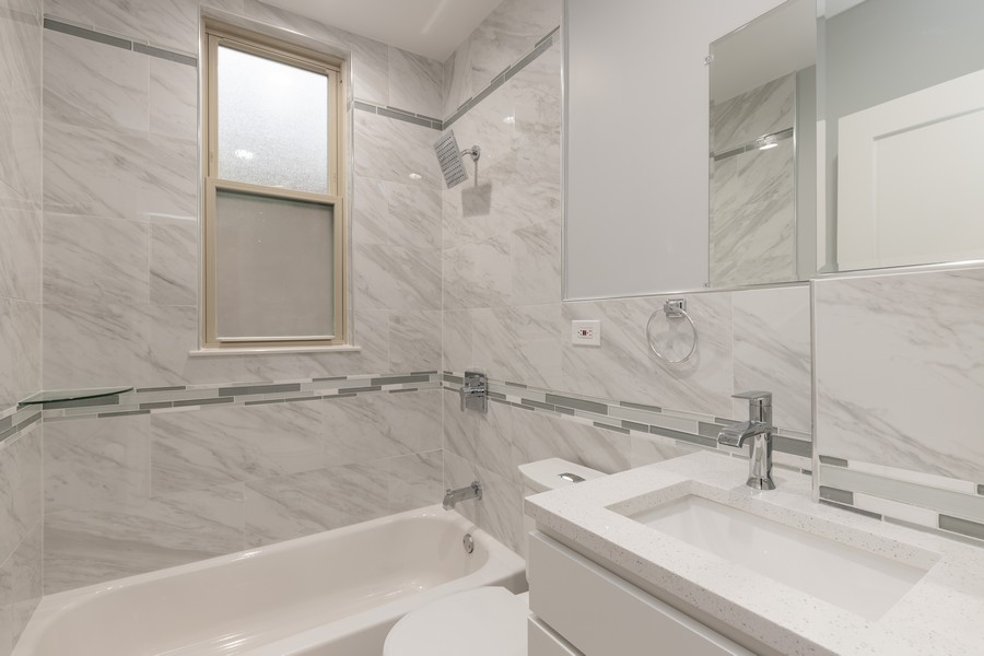 Real Estate Photography - 6112 S Kedvale Ave, Chicago, IL, 60629 - Bathroom