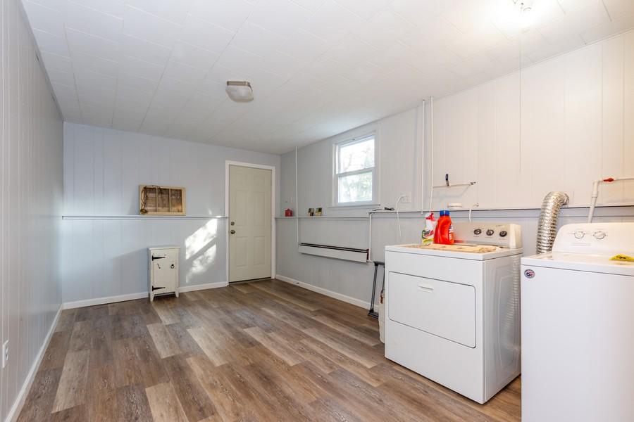Real Estate Photography - 120 Hempstead Pl, Joliet, IL, 60433 - Laundry Room