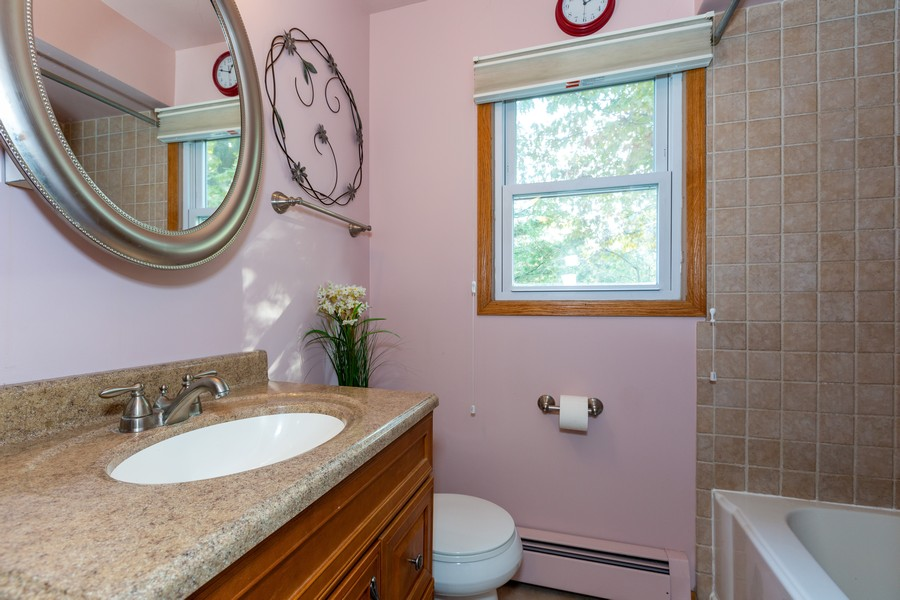 Real Estate Photography - 120 Hempstead Pl, Joliet, IL, 60433 - 2nd Bathroom
