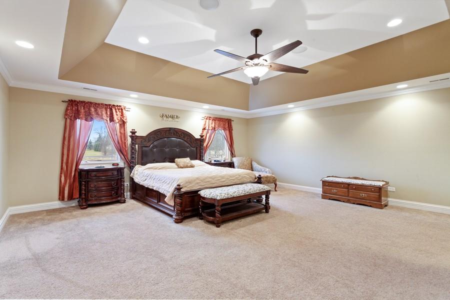 Real Estate Photography - 16200 Syd Creek Drive, Homer Glen, IL, 60491 - Master Bedroom