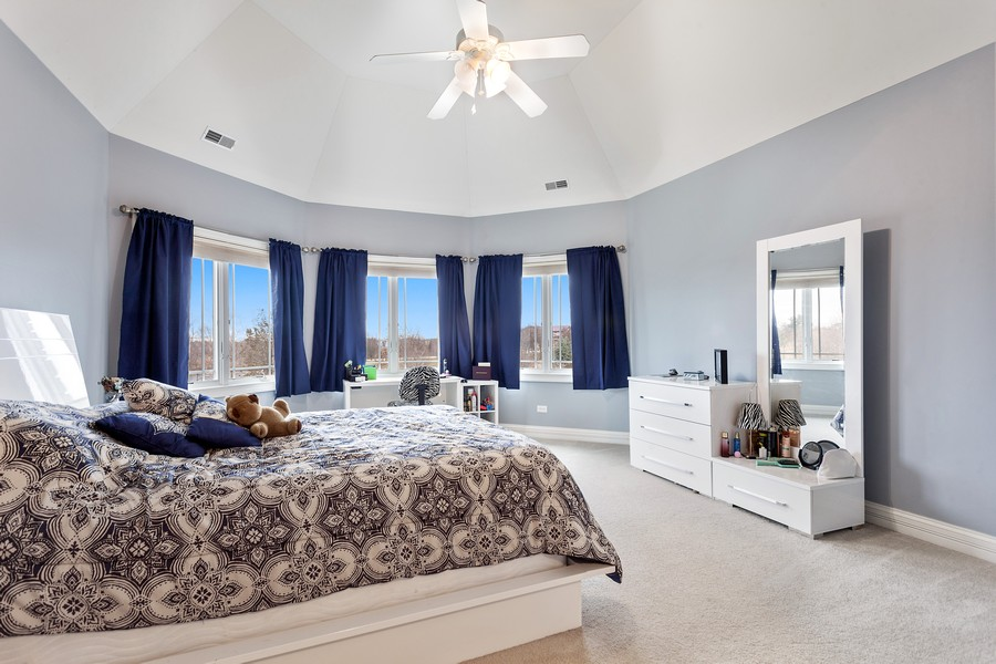 Real Estate Photography - 16200 Syd Creek Drive, Homer Glen, IL, 60491 - 2nd Bedroom