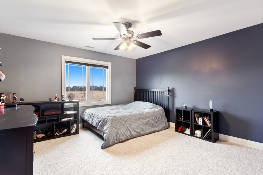 Real Estate Photography - 16200 Syd Creek Drive, Homer Glen, IL, 60491 - 3rd Bedroom
