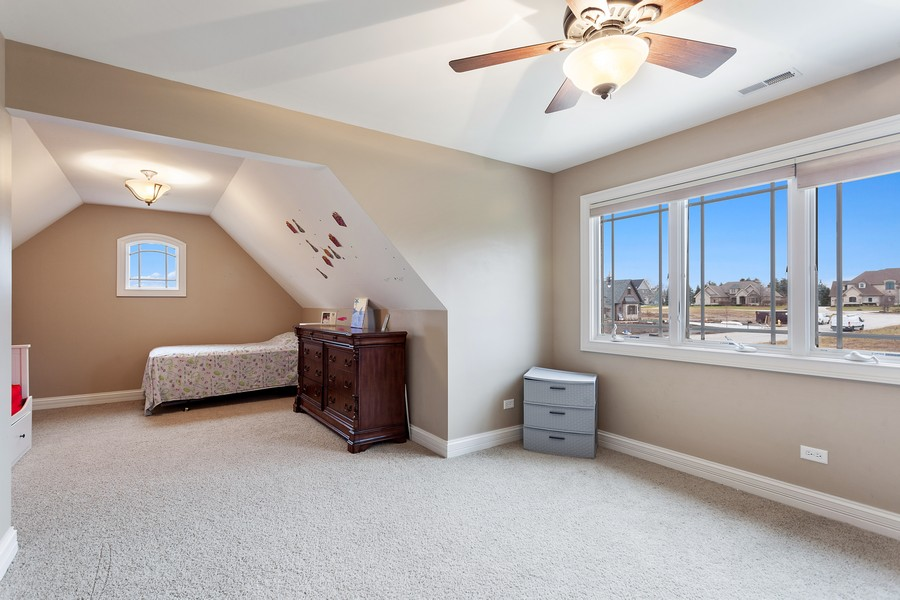 Real Estate Photography - 16200 Syd Creek Drive, Homer Glen, IL, 60491 - 4th Bedroom