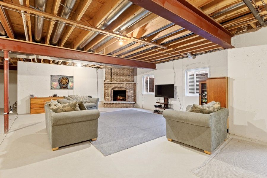 Real Estate Photography - 16200 Syd Creek Drive, Homer Glen, IL, 60491 - Basement