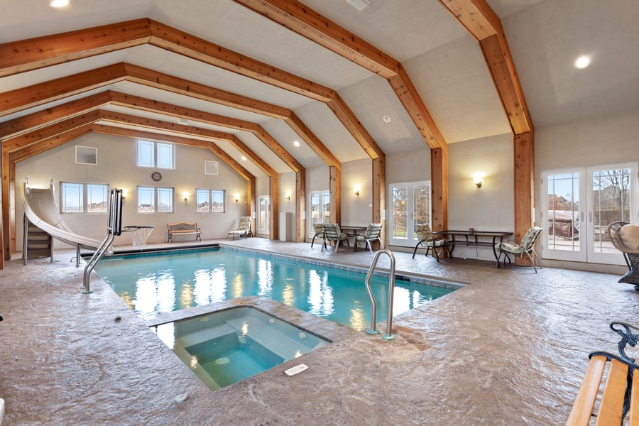 Real Estate Photography - 16200 Syd Creek Drive, Homer Glen, IL, 60491 - Pool