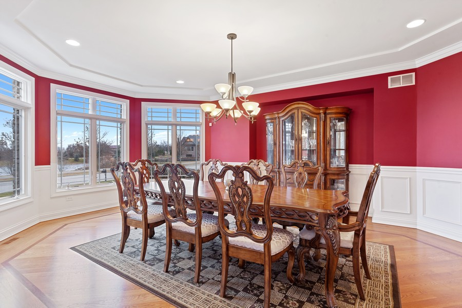 Real Estate Photography - 16200 Syd Creek Drive, Homer Glen, IL, 60491 - Dining Area