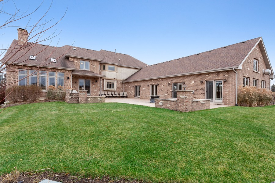 Real Estate Photography - 16200 Syd Creek Drive, Homer Glen, IL, 60491 - Rear View