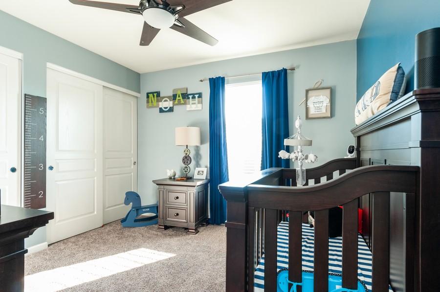 Real Estate Photography - 108 Devoe, Oswego, IL, 60543 - 2nd Bedroom