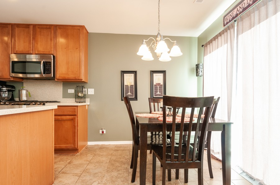 Real Estate Photography - 108 Devoe, Oswego, IL, 60543 - Dining Room