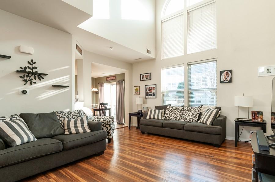 Real Estate Photography - 108 Devoe, Oswego, IL, 60543 - Family Room