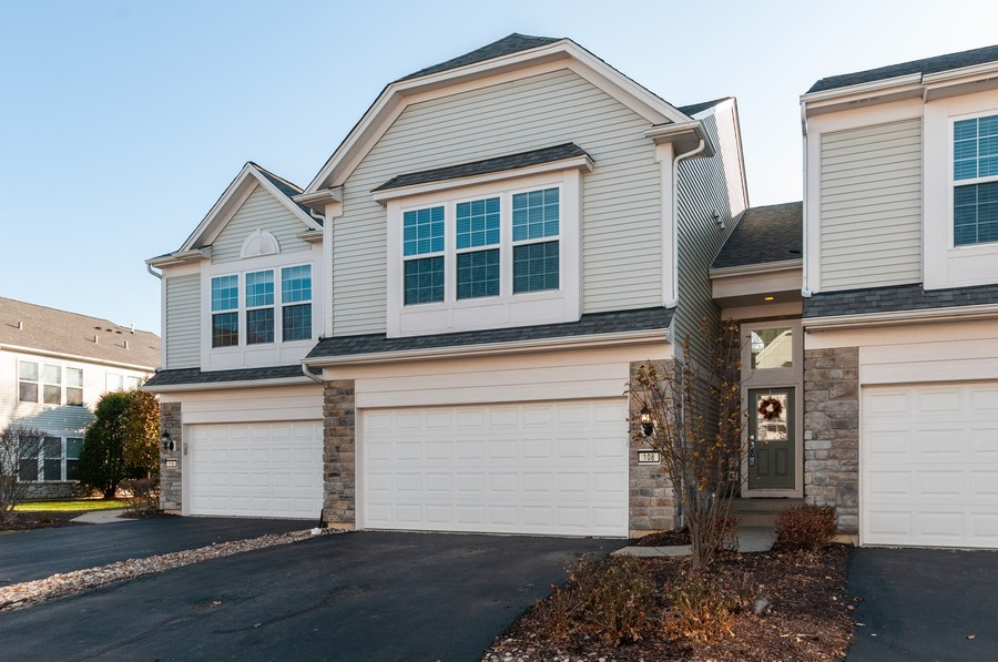 Real Estate Photography - 108 Devoe, Oswego, IL, 60543 - Front View