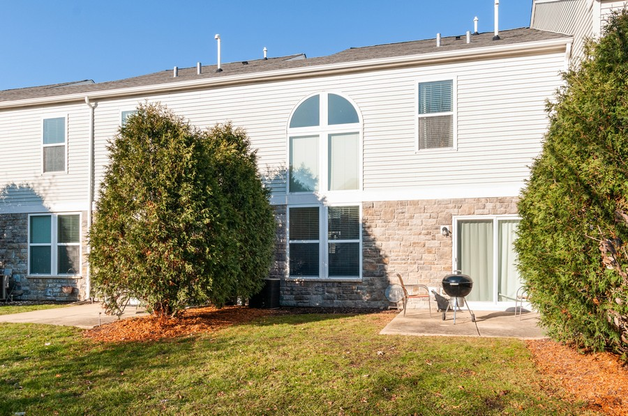 Real Estate Photography - 108 Devoe, Oswego, IL, 60543 - Rear View