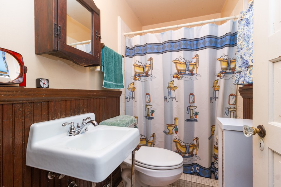 Real Estate Photography - 14828 E 1500 N, Grant Park, IL, 60940 - 2nd Bathroom