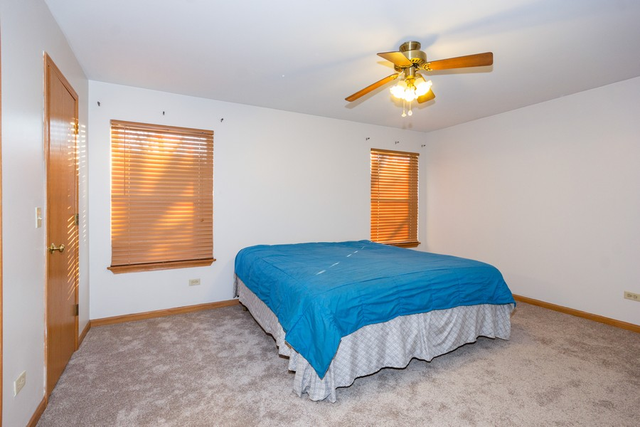 Real Estate Photography - 5614 Cider Grove Court, Plainfield, IL, 60586 - Master Bedroom