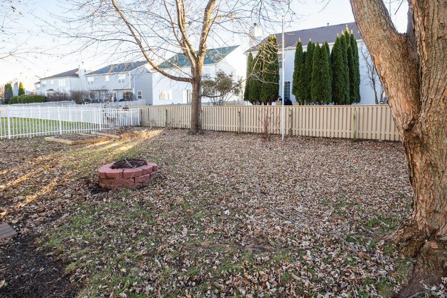 Real Estate Photography - 5614 Cider Grove Court, Plainfield, IL, 60586 - Back Yard