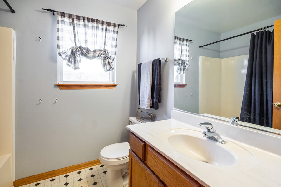 Real Estate Photography - 5614 Cider Grove Court, Plainfield, IL, 60586 - Bathroom