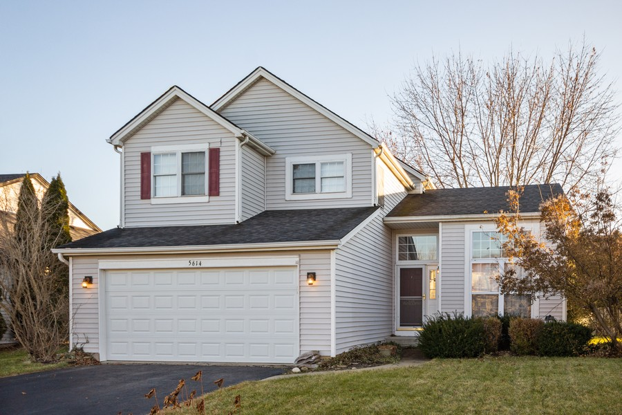 Real Estate Photography - 5614 Cider Grove Court, Plainfield, IL, 60586 - Front View