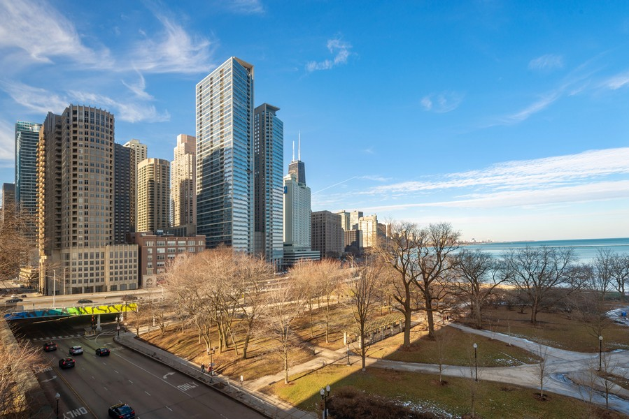 Real Estate Photography - 505 N Lakeshore, Unit 503, Chicago, IL, 60611 - View
