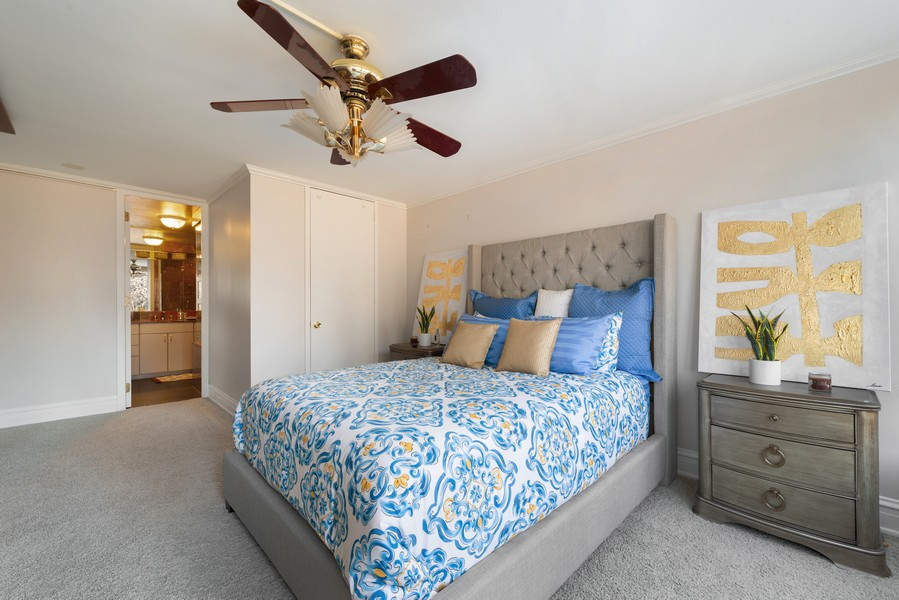 Real Estate Photography - 505 N Lakeshore, Unit 503, Chicago, IL, 60611 - Master Bedroom