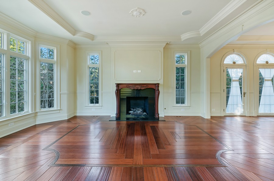 Real Estate Photography - 114 Mary St, Winnetka, IL, 60093 - Living Room