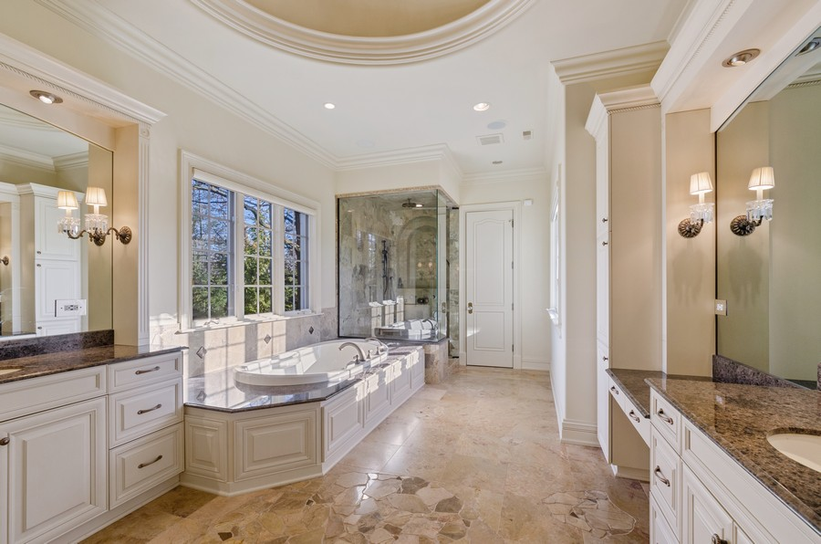 Real Estate Photography - 114 Mary St, Winnetka, IL, 60093 - Master Bathroom