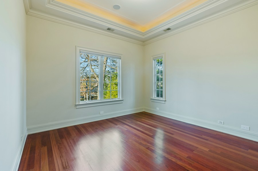 Real Estate Photography - 114 Mary St, Winnetka, IL, 60093 - 3rd Bedroom