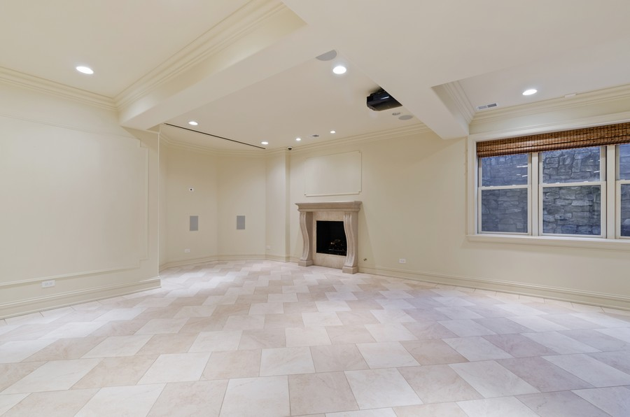 Real Estate Photography - 114 Mary St, Winnetka, IL, 60093 - Lower Level