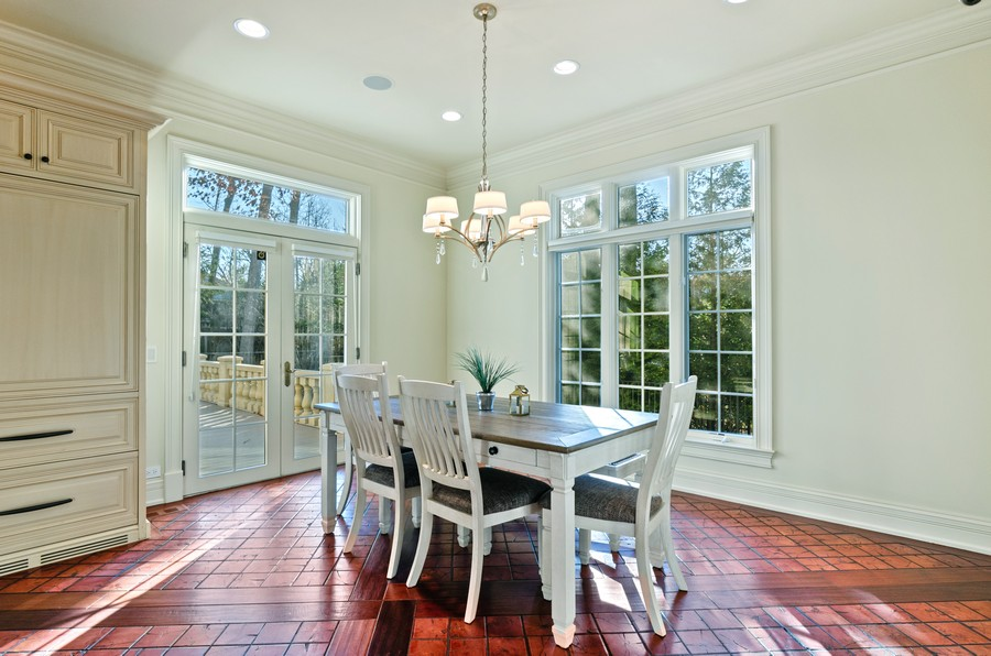 Real Estate Photography - 114 Mary St, Winnetka, IL, 60093 - Dining Area