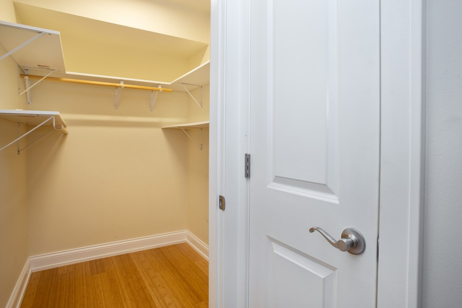 Real Estate Photography - 126 Lalomde, Unit 1C, Addison, IL, 60101 - Closet