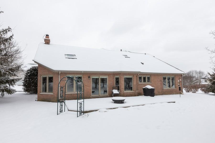 Real Estate Photography - 10960 Ashton Lane, Orland Park, IL, 60467 - Rear View
