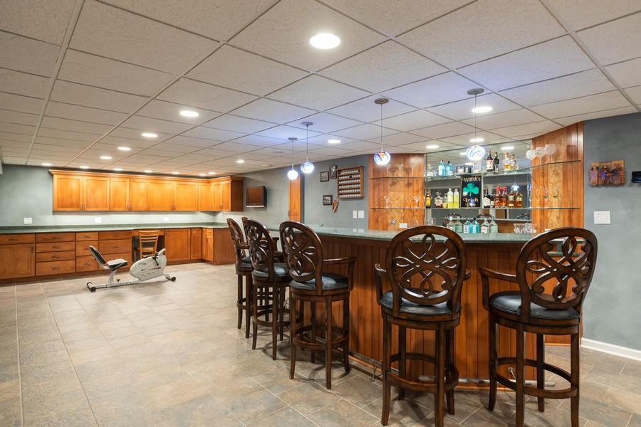 Real Estate Photography - 10960 Ashton Lane, Orland Park, IL, 60467 - Bar