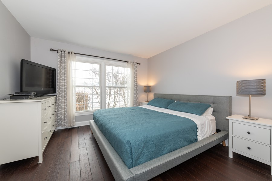 Real Estate Photography - 1718 Coach Drive, Naperville, IL, 60565 - Master Bedroom