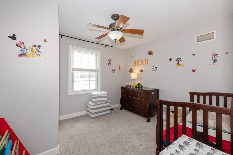 Real Estate Photography - 1718 Coach Drive, Naperville, IL, 60565 - 2nd Bedroom