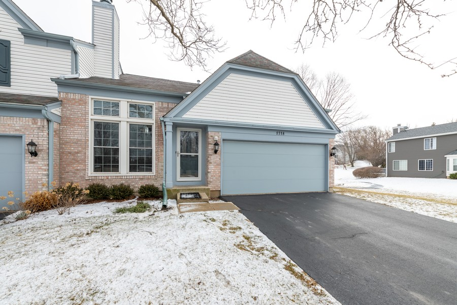 Real Estate Photography - 1718 Coach Drive, Naperville, IL, 60565 - Front View