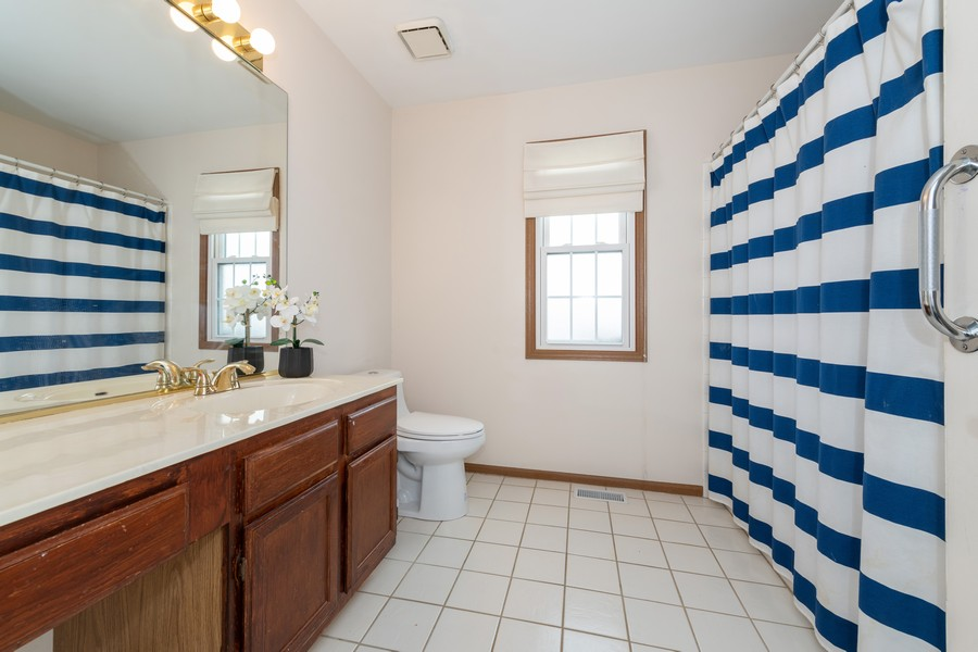 Real Estate Photography - 1718 Coach Drive, Naperville, IL, 60565 - Bathroom