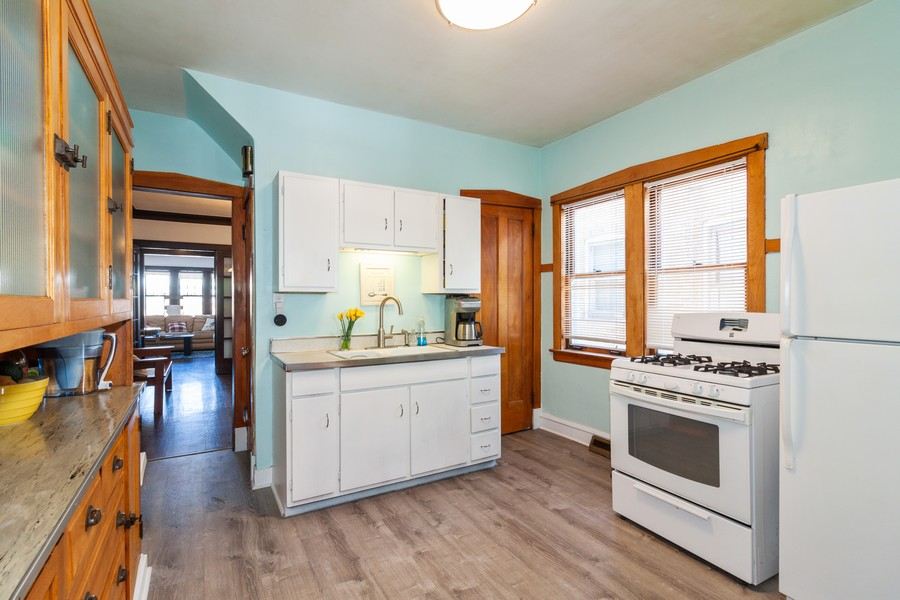 Real Estate Photography - 5929 West Grace, Chicago, IL, 60634 - Kitchen