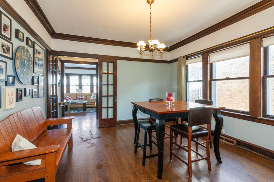 Real Estate Photography - 5929 West Grace, Chicago, IL, 60634 - Dining Room