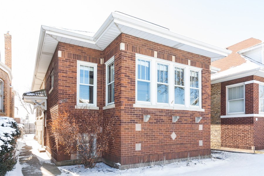 Real Estate Photography - 5929 West Grace, Chicago, IL, 60634 - Front View