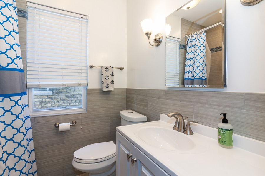 Real Estate Photography - 5929 West Grace, Chicago, IL, 60634 - Bathroom
