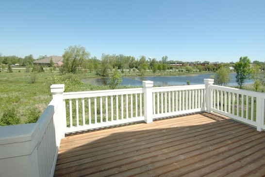 Real Estate Photography - 1040 Orchard Pond Court, Lake Zurich, IL, 60047 - Deck